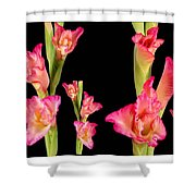 Elegant Sensual Romantic Flower Bouquet For Valentine's Day Shower Curtain