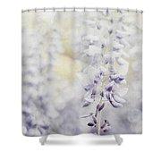 Elegant Wisteria Shower Curtain