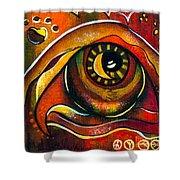 Elementals Spirit Eye Shower Curtain