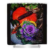 Elements Of Fall Shower Curtain