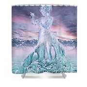 Elements - Water Shower Curtain