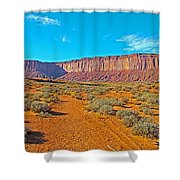 Elephant Butte From Wildcat Trail In Monument Valley Navajo Tribal Park-arizona   Shower Curtain