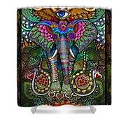 Elephant Dream Shower Curtain