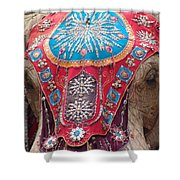 Elephant Mechanical Shower Curtain