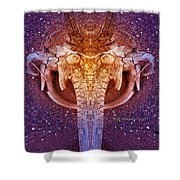 Elephunk Shower Curtain