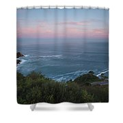 Elevated View Of Monte Igueldo Shower Curtain