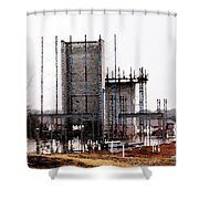 Elevator Going Up Shower Curtain