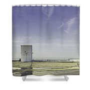 Elevator Shower Curtain