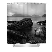 Elgol Beach Isle Of Skye Scotland Uk Shower Curtain