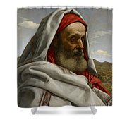 Eliezer Of Damascus Shower Curtain
