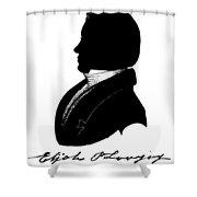 Elijah Parish Lovejoy (1802-1837) Shower Curtain