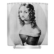 Elisabetta Sirani (1638-1665) Shower Curtain