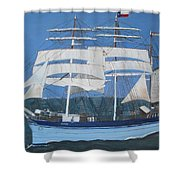 Elissa The Ship Shower Curtain