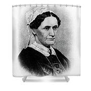 Eliza Mccardle Johnson (1810-1876) Shower Curtain