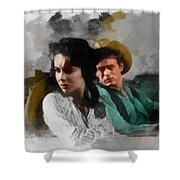Elizabeth And James - Giant Shower Curtain