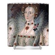 Elizabeth I Of England Shower Curtain