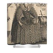 Elizabeth, Queen Of England, C.1603 Shower Curtain