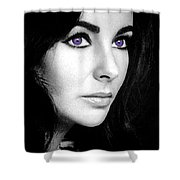 Elizabeth Taylor Shower Curtain