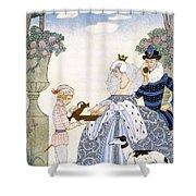 Elizabethan England Shower Curtain