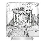 Elizabeth's Gate Shower Curtain
