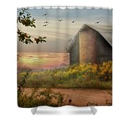 Elk County Shower Curtain