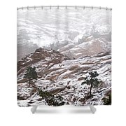 Elk Mountain Shower Curtain
