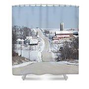 Elkader Farm Shower Curtain