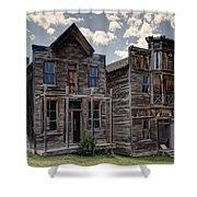Elkhorn Ghost Town Public Halls - Montana Shower Curtain