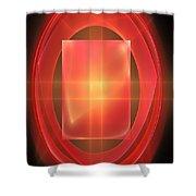Ellipse 125-02-13 Marucii Shower Curtain