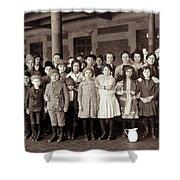 Ellis Island, C1908 Shower Curtain