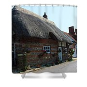 Elm Cottage Nether Wallop Shower Curtain