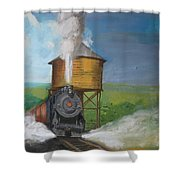 Elmira Branch Shower Curtain