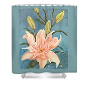 Elodie Lily Shower Curtain