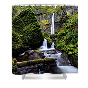 Elowah Falls Shower Curtain