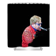 Elton Shower Curtain by Aaron Martens