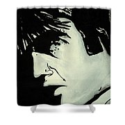 Elvis.     The King Shower Curtain