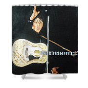 Elvis 1956 Shower Curtain