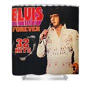 Elvis Album Shower Curtain