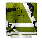 Elvis And The Other Lady Shower Curtain