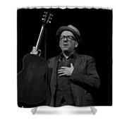 Elvis Costello Shower Curtain