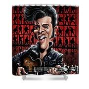 Elvis In Memphis Shower Curtain