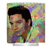 Elvis Presley - 5 Shower Curtain