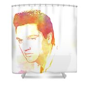 Elvis Presley - 6 Shower Curtain