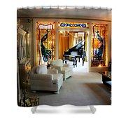 Elvis Presley's Living Room Shower Curtain
