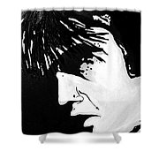Elvis The Show Must Go On Shower Curtain