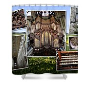 Ely Montage Shower Curtain