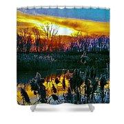 Emagin Sunset Shower Curtain
