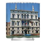 Embassy Building Venice Italy Shower Curtain