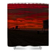 Embers Of Dawn Shower Curtain
