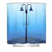 Embrace Uncertainty Shower Curtain